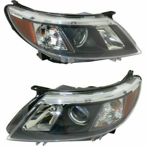 Fit For Saab 9 3 2008 2009 2010 Headlight Right Left Pair Set