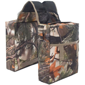 1X(Large Capacity Motorcycle Bicycle Backseat Camouflage Atv Bag Outdoor S T6X4