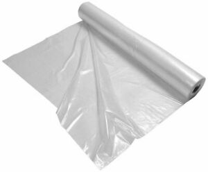 Clear Plastic Film Polyethylene Covering General Equipment Covers On Roll 60 500