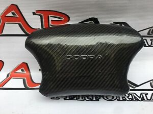 Cover Carbon Fiber Cap For Steering Wheel Only Mustang Cobra 99 04