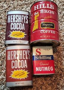 vintage tin cans