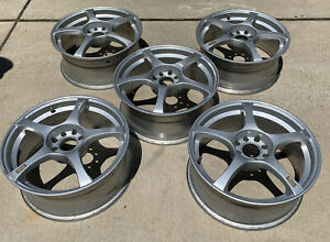 Ford Focus Enkei Rs5 17x7 4x108 And 4x100 Set Of 5 Rims