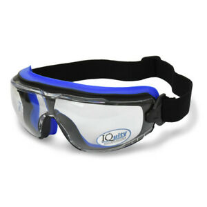 Radians Lpx Clear Iquity Superior Anti Fog Safety Goggles Foam Padded D3 d4