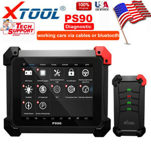 Usa Xtool Ps90 Obd2 Immo Diagnostic Tool With Auto Programmer Odometer Dpf Epb