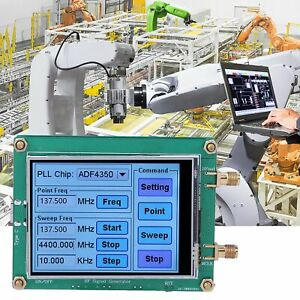 Adf4350 adf4351 Rf Signal Generator Sweep Frequency Generator Lcd Touch Screen