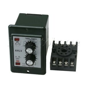 Atdv y Dc 12v Delay 0 6s Timer Repeat Cycle Time Relay Adjusta