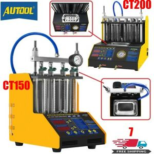 110v Petrol Gasoline Injector Cleaner 4 6 Cylinder Ultrasonic Cleaning Machine