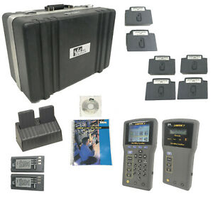 Ideal Lantek 7 750mhz Cable Certification Tester Kit W case adapters Software