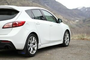 Mud Flaps For 2010 2013 Rally Concepts Mazda Speed3 4 Mudflaps