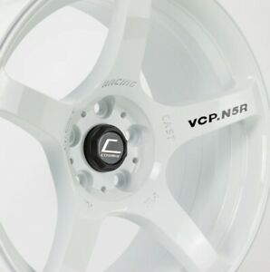 Cosmis Racing N5r 18x9 15 5x114 3 White Set Of 4
