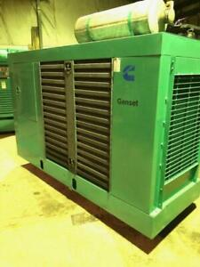 Cummins Onan 100 Kw Natural Gas Generator Set W 734 Hours