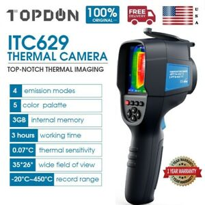 Topdon Itc629 Ir Infrared Thermal Imaging Camera Handheld Sensitivity Lightweigh