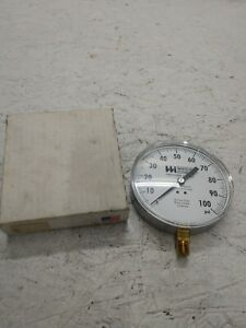 Weiss Instruments 0 100 Psi Industrial Pressure Gauge
