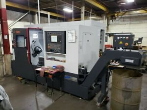 Used Samsung Sl 2500 bsy Cnc Turning Center Lathe Live Tool Sub Spindle Y 2018