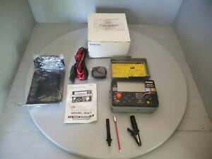 A w Sperry Instruments Digital Megohm Insulation continuity Tester 3021