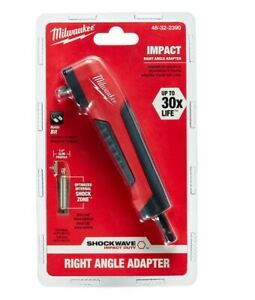 Milwaukee Shockwave Right Angle Drill Adapter Power Tool Accessory Attachment
