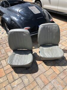 Vintage Porsche 356 Standard Seats Date Stamped 10 58 And 01 60