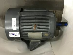 Us Electric 10 Hp Ac Motor 208 230 460 Volts 3505 Rpm 2p 215 T Frame