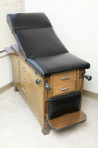 Vintage Mid century Medical Exam Table