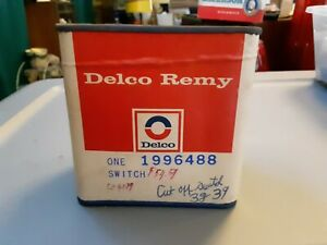Nos Vintage Delco Remy 1940 s Military Cut Off Switch Pull Turn Type Rat Rod