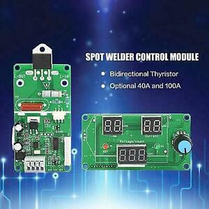 Spot Welder Time Control Board Current Controller With Digital Display 40 100a