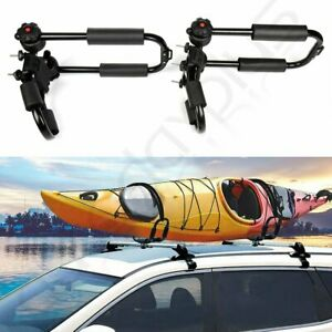 Car Kayak Rack Crossbar Holder Kayak Carrier Saddle Watercraft Roof Rack Canoe