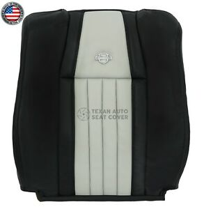 2003 Ford F150 Harley Davidson Driver Lean Back Leather vinyl Seat Cover 2 Tone