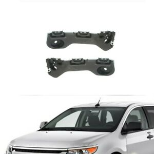 Bracket Support Fit For Ford Edge 2011 2014 Front Bumper Set Pair Rh Lh