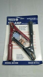 Matco Tools 500 Amp Replacement Clamps Bjc500 Battery Chargers Testers Cables