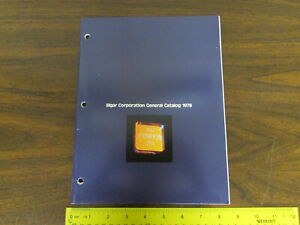 Elgar Corp General Catalog 1978 Electronics Test Equipment Brochure