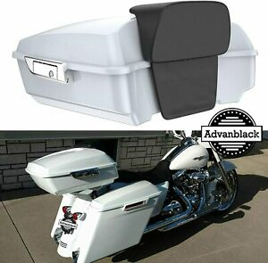 Crushed Ice Pearl Chopped Tour Pak For 97 20 Harley Street Electra Road Glide