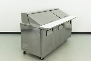 Used True Tssu 72 30m b st 72 Mega Top Sandwich Prep Table 555019