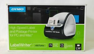 Dymo Labelwriter 450 Turbo High speed Label And Postage Printer For Pc
