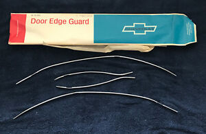 Nos 1968 Chevrolet Impala Belair Caprice 4dr Door Edge Guards Gm 987308