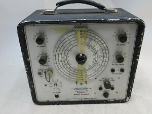Precision Apparatus E 200 c Signal Marking Generator Power Tested Only As is