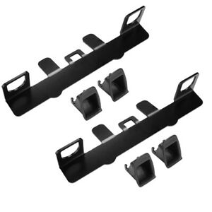 Universal Car Child Seat Restraint Anchor Mounting Kit For Isofix Belt Conn H2o6