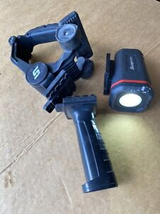 Snap On Tools Rechargeable Work Light 1200 Lumen Flashlight Ecuhc102 W Clamps