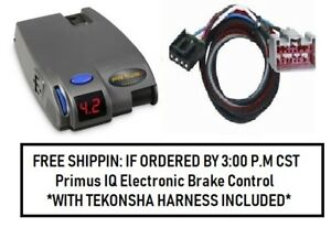 90160 Tekonsha Brake Control With Wiring Harness 3034 For 2008 2016 Ford