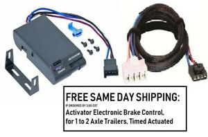 5100 Draw Tite Brake Control With Wiring Harness 3020 For 1995 2011 Dodge