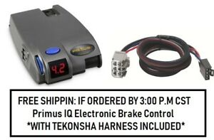 90160 Tekonsha Brake Control With Wiring Harness 3026 For 2007 2018 Gm