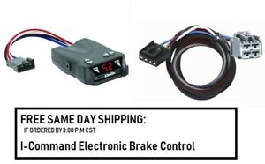 5504 Draw Tite Brake Control With Wiring Harness 3045 For 2011 2020 Dodge Jeep