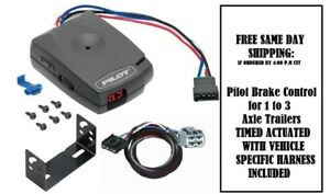 80550 Pro Series Brake Control With Wiring Harness 3045 For 2011 2020 Dodge Jeep