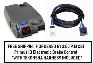 90160 Tekonsha Brake Control With Wiring Harness 3050 For 2004 2019 Nissan