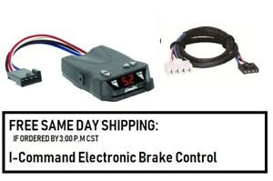 5504 Draw Tite Brake Control With Wiring Harness 3020 For 1995 2011 Dodge