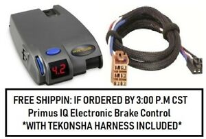 90160 Tekonsha Brake Control With Wiring Harness 3025 For 1992 2002 Gm