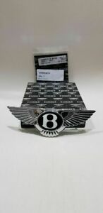 Bentley Continental Gt Gtc Radiator Grill Emblem 2015 Onwards