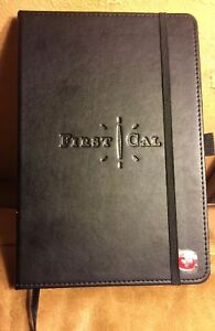 Wenger Swiss Brand Bound Journals Gift New Old Stock In Box First Cal Embossed