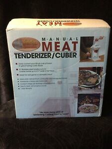 Cabela s Meat Tenderizer Cuber New Open Box Msrp 139 99 Awesome