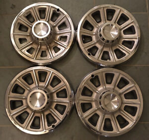 1966 Pontiac Gto Lemans Tempest 14 Deluxe Wheelcovers Hubcaps Set Also Fit 1965