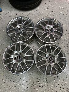 2012 2014 Ford Mustang 18 Oem Polished Wheels